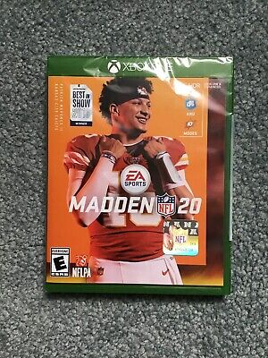 Madden NFL 20 -- Standard Edition (Microsoft Xbox One, 2019) NEW Sealed