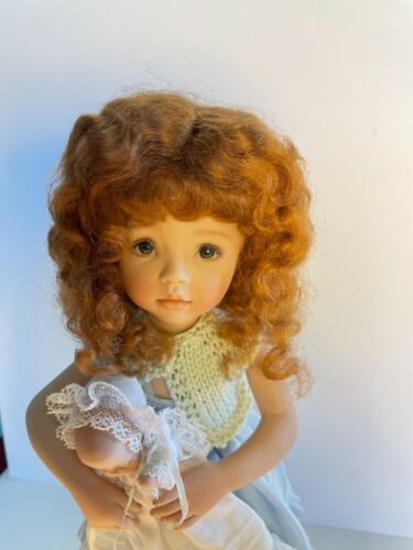 Global doll wig- Alice- size 6-7 100% MOHAIR