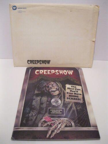Original Creepshow Press Kit With Mailer Stephen King & George A. Romero