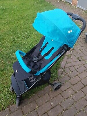 Joie Pact Lite Pacific Stroller Pushchair + Raincover Parasol