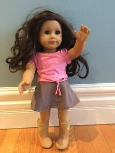 American girl doll - just in time for Christmas!