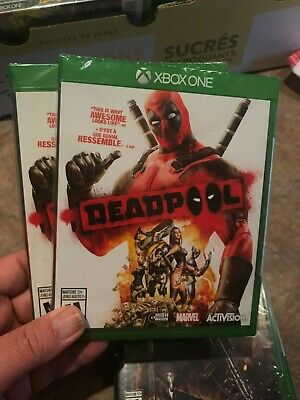 DEADPOOL XBOX ONE - Brand New & Sealed- Fast Shipping