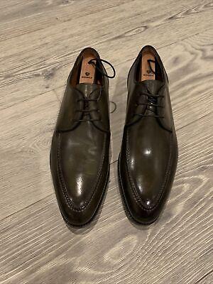 NWOB Bontoni Green Patina Derby Shoes Size 11 1/2 $1195 Beautiful!!