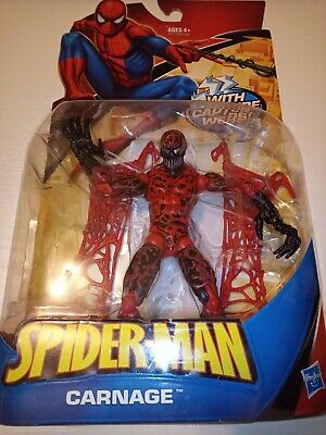 CARNAGE SPIDER-MAN CLASSIC MARVEL LEGENDS SPIDERMAN PETER PARKER MARVEL UNIVERSE