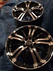RTX POISON SERIES ALLOY WHEELS