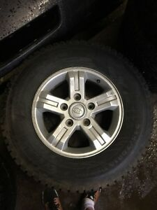One winter tires 245/70/R16