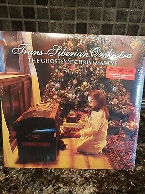 NEW Trans-Siberian Orchestra The Ghosts Of Christmas Eve TSO Rare Vinyl LP OOP