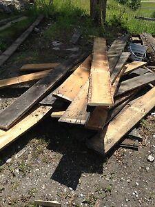 100 year old barn boards