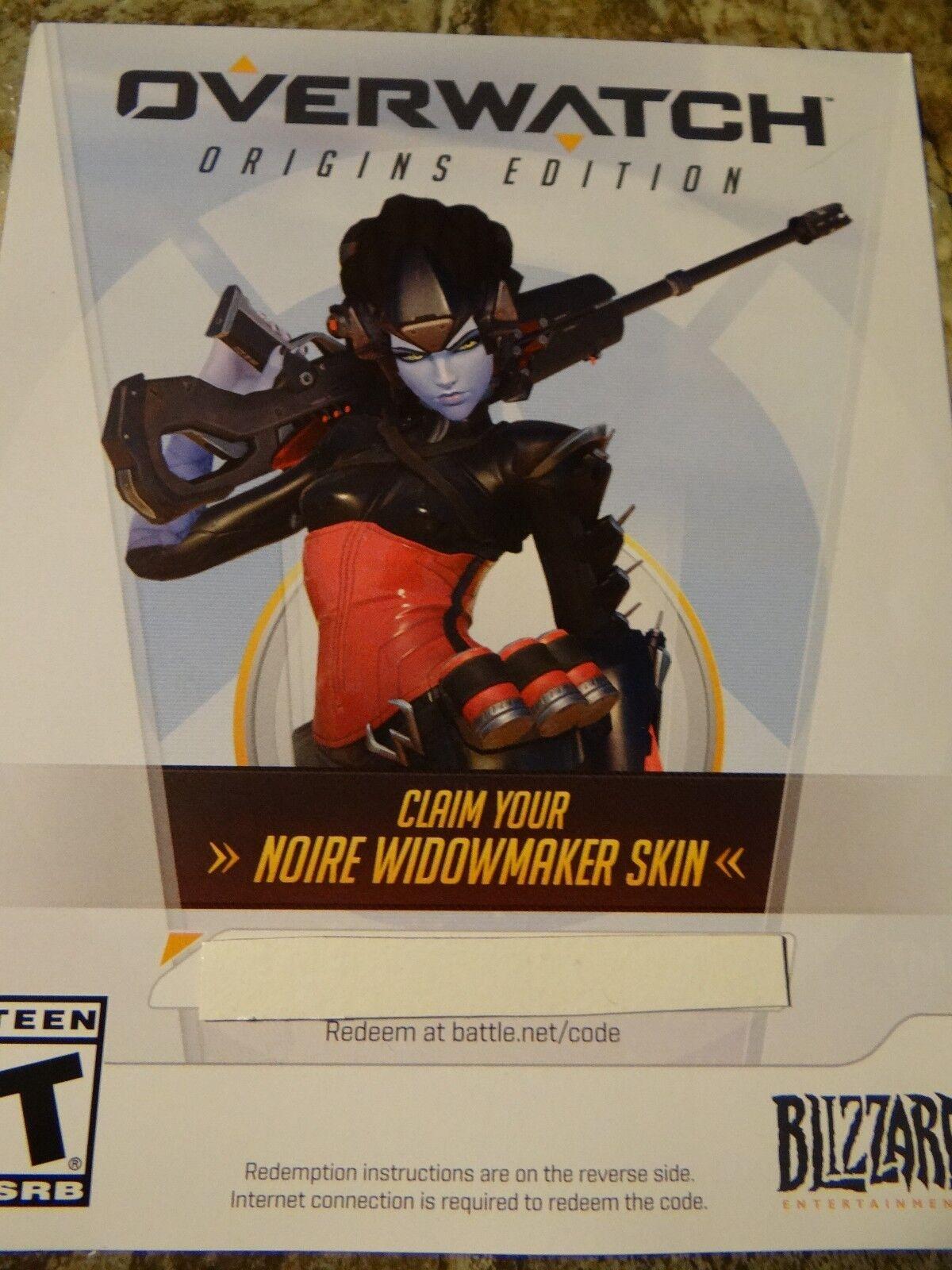 Overwatch Widowmaker Preorder Noire Legendary Skin DLC Code  PC Region Free    Shopping Bin - Search eBay faster