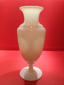 vase opaline de cristal de s vres sign 24cm ebay. Black Bedroom Furniture Sets. Home Design Ideas
