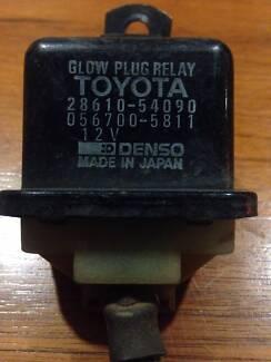 Toyota Landcruiser / Hilux; 12 volt Glow Plug Relay # 28610-54090
