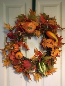 "15"" fall wreath"