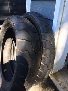 Two Bridgestone battle wings  tires like new