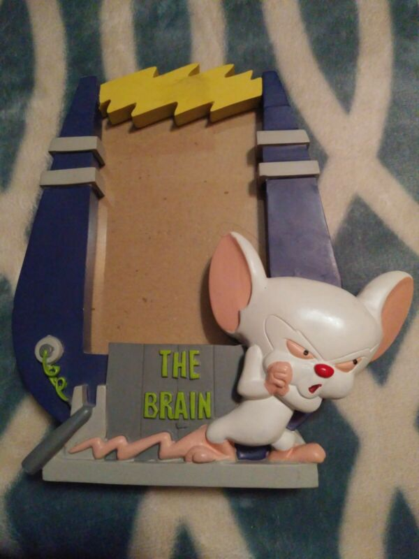 Vintage Pinky and the Brain Picture Frame Warner Brothers 1997