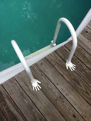 ABOVE GROUND SWIMMING POOL ACCESSORIES, LADDER ANCHORS, LADDER FLANGES