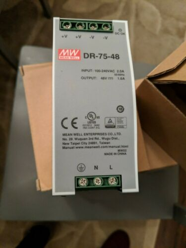 MW Mean Well LRS-100-48 48V 2.3A 110W Single Output Switching Power Supply