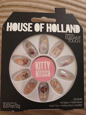 House Of Holland Kitty Kitsch False Nails