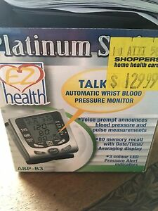 Blood Pressure Monitor new never opened