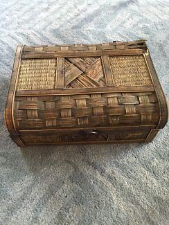 Wicker woven box Mosman Mosman Area Preview
