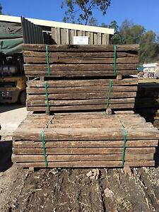 Old Railway Sleepers Chandler Brisbane South East Preview