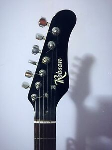 Black Robson Electric Guitar