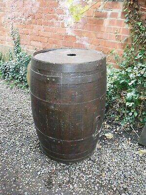 Vintage Wooden Barrel (773P)