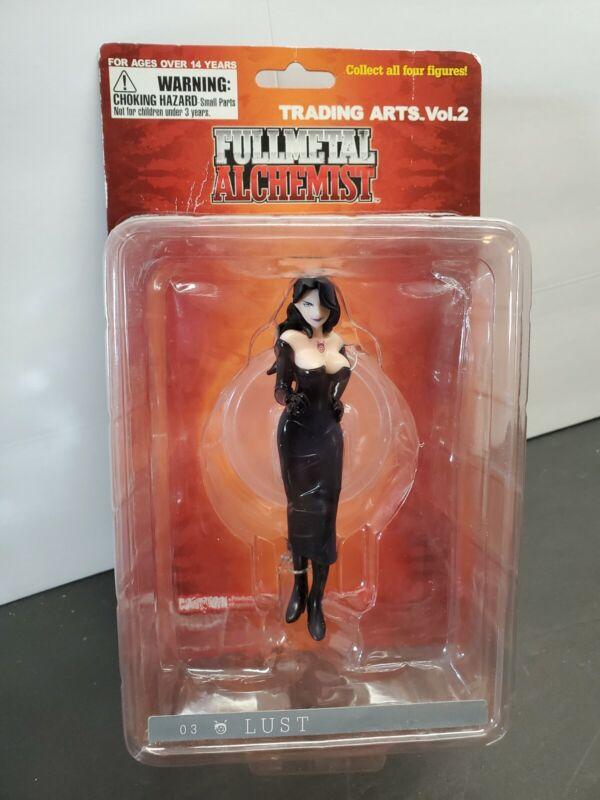 Fullmetal Alchemist Lust Trading Arts ANIME Figure Square Enix Collector USA