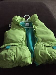 Gymboree fleece-lined vest (St. Thomas)
