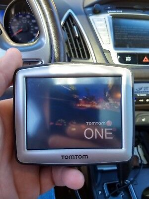 TomTom ONE 310 N14644 TOM TOM 1 GPS NAVIGATION WORKING GOOD CONDITION