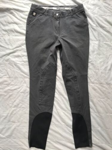 S1251 Breeches EQUILINE knee patch / flex legs US 28 Long