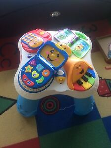 Fisher price sit to stand table