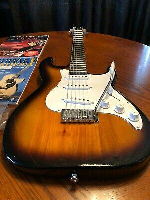 Vintage Sunburst Samick Greg Bennett Design AV10 Electric Guitar