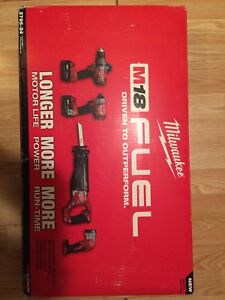 Milwaukee M18 4-pc Tool Kit