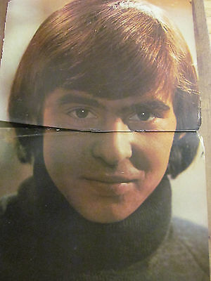 Davy Jones, The Monkees, Two Page Vintage Centerfold Poster