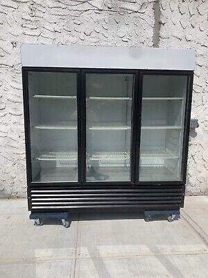 True Glass 3 Door Refrigerator