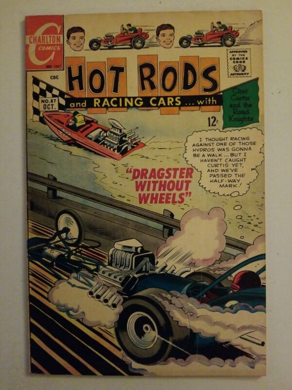 Hot Rods and Racing Cars (1951) #87 - Very Good