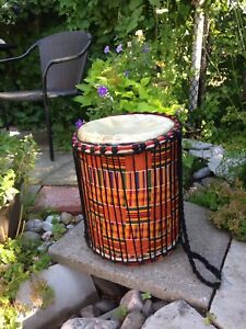 West African drum/coffee table