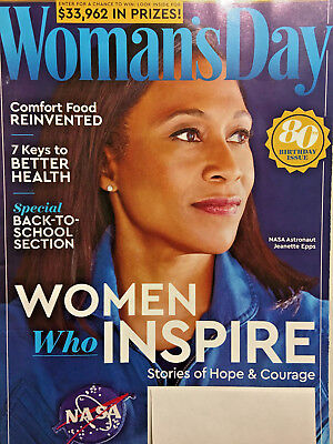 WOMAN'S DAY Magazine SEPTEMBER 2017 Comfort Food NASA Recipe WOMEN WHO INSPIRE for sale  Shipping to Canada
