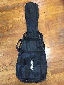 Soft BackPack Style Guitar case.