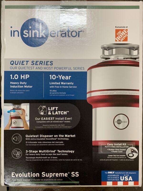 Insinkerator 1.0 HP Plus Quiet Series Garbage Disposal with Power Cord Kit