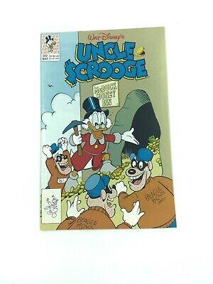 Vintage Walt Disney/'s Uncle Scrooge January 1991 Issue #250 Carl Barks NM
