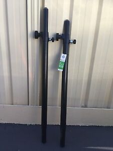 2x K&M stands sub pole speaker stand Smithfield Parramatta Area Preview