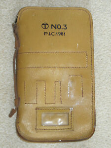 GPO/BT/Post OfficeTelephone Engineers Leather Tool Wallet Number Three