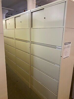 5 Drawer Lateral Size File Cabinet W Storage On Top By Herman Miller Meridian