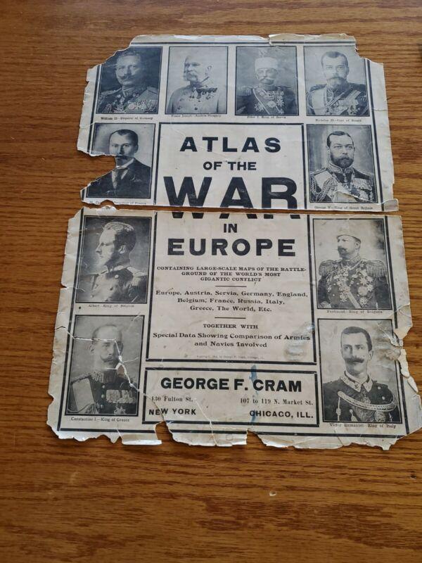 Atlas Of The War In Europe