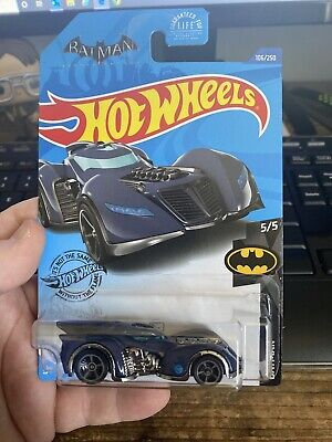 HOT WHEELS TREASURE HUNT BATMAN ARKHAM ASYLUM BATMOBILE