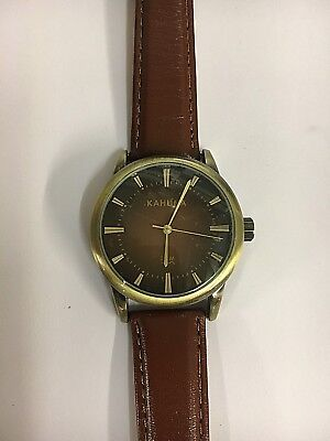 Kahuna Mens wristwatch with Best quality leather