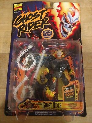 """Ghost Rider Flame Glow 5"""" Action 1996"""