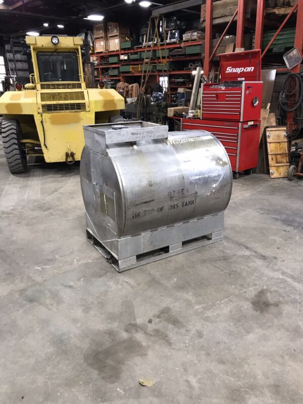 250 Gallon Stainless Steel Storage Fuel Chemical Tanks Will Ship