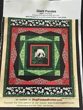 Giant Pandas quilting pattern and material Bayview Darwin City Preview